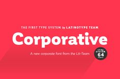 Corporative Complete Family 83% off by Latinotype on Creative Market