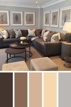 Living Room:Modern Colour Schemes For Living Room Earth Tone Interior Paint Colors Living Room Paint Colors 2018 How To Paint A Living Room How To Do Wall Painting Designs Yourself Blue Living Living Room Color Schemes Ideas Good Living Room Colors, Cozy Living Rooms, Interior Design Living Room, Home And Living, Living Room Designs, Small Living, Decorating Ideas For The Home Living Room, Living Area, Living Room Ideas Small Budget