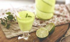 Osvěžující okurková limonáda
