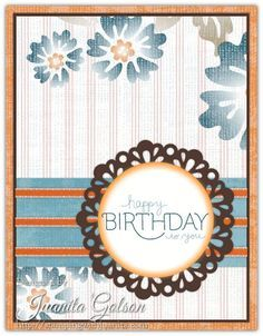 Simple Birthday Card Idea - front