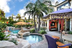 In love with this backyard.