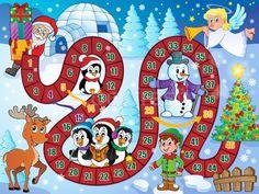 Stockfoto: Bordspel · afbeelding · christmas · ontwerp · engel · winter