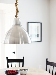Rope lamp cord cover - perfect for covering the swag light cord/chain!