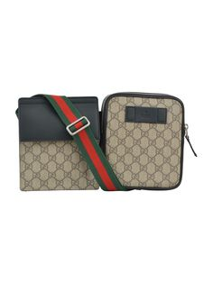 bf9c84231cc0 GUCCI GG SUPREME BUMBAG. #gucci #bags #leather #lining #accessories  #shoulder bags #nylon #pouch #
