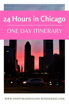24 Hours in Chicago – a Flight Attendant's Itinerary – Poppy Mae Higgins