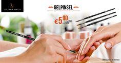 Special Offer in KW 42: GELPINSEL UM € 5,90 STATT € 6,90 (Das Angebot ist ausschließlich für Kundenkartenbesitzer vom 17.10.2016 bis einschließlich 22.10.2016 gültig) http://www.juliana-nails.com/de/produkte/pinsel/gelpinsel/gelpinsel-juliana-nails/product/13598-gelpinsel-juliana-nails