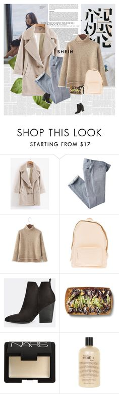 """""""Tomorrow is Monday..."""" by e-laysian ❤ liked on Polyvore featuring 7 For All Mankind, PB 0110, NARS Cosmetics and philosophy"""