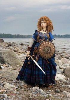 Arwyn, a Celtic Warrior Maiden