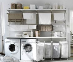 Browse our huge range of bedroom furniture and ideas at IKEA. Ikea Laundry Room, Small Laundry Rooms, Laundry Room Storage, Laundry Room Design, Basement Laundry, Ikea Algot, Laundry Sorting, New Home Wishes, Ikea New