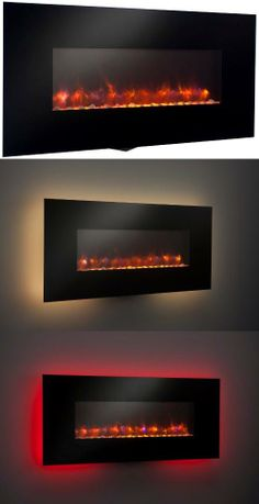 Wall Mount Electric Fireplace - need to add minor shield cover to make outdoor ready.