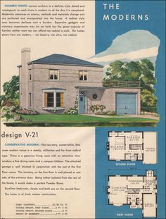 1000 images about art moderne houses on pinterest for Streamline moderne house plans