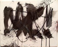 Study on Canvas (1950s) / by Franz Kline