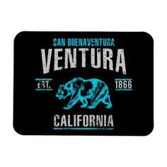 Ventura Magnet - vintage gifts retro ideas cyo