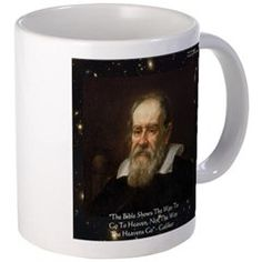 #Galileo & #Bible #Quote #mug 30%off Code COCO30 @c/o Ends Sat 12amPT @cafepress #gift @Ricklondon #sale #gift #astronomy @pinterest