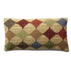 Corum Kilim Lumbar Pillow / $39 at Grandin Road / 21 x 11