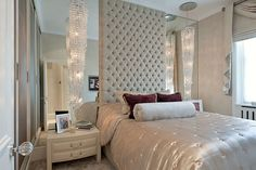 Luxury Bedroom in Chelsea, London by Hill House Interiors
