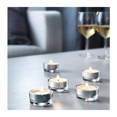 SINNLIG Scented tealight IKEA Creates atmosphere with a pleasant scent of vanilla pleasure and warm candlelight.$2.99/30 pack