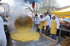 Sagra del polentone a Ponti ,  Alto Monferrato Piedmont Italy