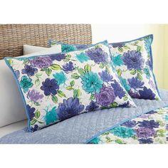 Better Homes and Gardens Watercolor Floral Sham