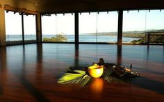 the yoga room most beautiful ever