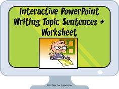 How to write an outstanding topic sentence?