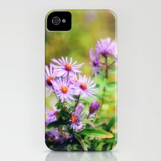 Purple Aster iPhone Case by Captive Images Photography - $35.00