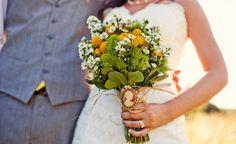 Ramos de novia con margaritas blancas [FOTOS]