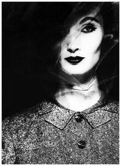 Evelyn Tripp by Erwin Blumenfeld, 1962