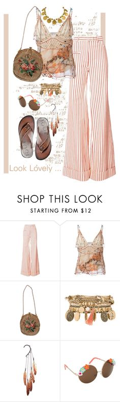 """""""Look Lovely"""" by confusgrk ❤ liked on Polyvore featuring Rosie Assoulin, Christopher Kane, Samantha Wills, Anni Jürgenson, ALDO, Julbo and AmiciMei"""