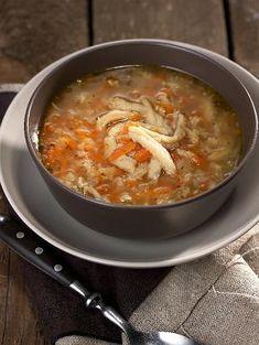 Flaki wołowe Tripe Soup, Polish Recipes, Polish Food, Soups And Stews, Cheeseburger Chowder, Great Recipes, Chili, Menu, Thanksgiving
