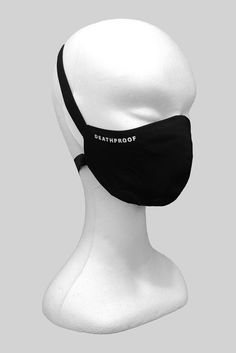 Face mask with logo Metal Fashion, Dark Fashion, All Black Outfit, Black Outfits, Monochrome Fashion, Street Wear, Women Wear, Street Style, Black Clothes