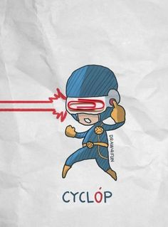 Ilustrador recria super-heróis da Marvel usando objetos do dia a dia para interagir com desenhos | Virgula