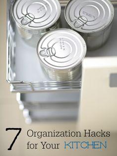 7 Organization Hacks for your Kitchen