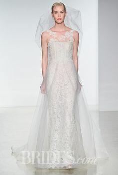 Brides.com: Amsale - Spring 2015. Wedding dress by Amsale