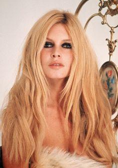 Brigitte Bardot's hair