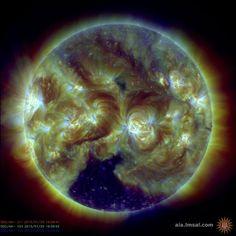 Substantial Coronal Hole on The Sun | NASA SDO