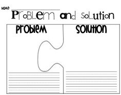 √ FREE Problem and Solution - could have these pre-written, give a piece to each…