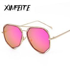 82ceecf7c91ee XINFEITE 2018 Fashion Brand Sunglasses For Women Glasses Polarized Sun  Glasses Male Mirror Men Eyelasses Female Vintage Oculos-in Sunglasses from  Women s ...