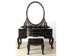 Black Bedroom Vanity Set - Foter