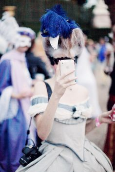 costume party at Versailles - Love this picture. Would love to do this some day.