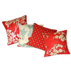 LIVING ROOM!  PERFECT/TEAL AND RED:  Decorative designer pillow cover  16x16 pillow cover by CoupleHome, $26.20