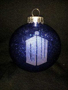 Doctor Who Christmas ornament