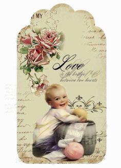 Bebé de la vendimia imprimible   Vintage Prints ~ Victorian & amp; Anuncios   Pinterest)
