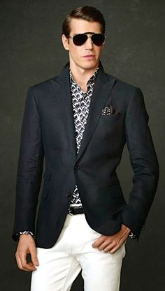 Ralph Lauren Purple Label | Spring-Summer | Men's Fashion | Business Casual | Shop at designerclothingfans.com