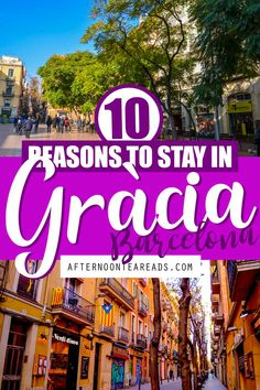 10 Reasons You Should Stay in Gràcia Barcelona #graciabarcelona #wheretostaybarcelona #bookingbarcelonavacation #planningbarcelonavacation #barcelonaguide barcelonatips