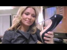 Kelly Ripa tights 19 - YouTube Kelly Ripa, Zooey Deschanel, Sexy Legs, Me Too Shoes, High Heels, Tights, Youtube, Women, Navy Tights