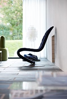 SYSTEM 1-2-3 LOUNGE CHAIR -  Designed by Verner Panton