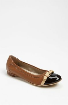 b47118c77a2 Attilio Giusti Leombruni Toe Cap Ballet Flat available at  Nordstrom The  most comfortable shoes I