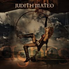 Portada cd ASHES by Judith Mateo.