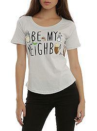 HOTTOPIC.COM - Studio Ghibli Her Universe My Neighbor Totoro Be My Neighbor Girls T-Shirt
